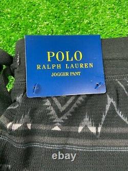 SIZE M Polo Ralph Lauren Men Southwestern Indian Tribal Beacon Jogger Sweatpants