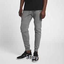 Size XL Nike Men's NSW Sportswear Tech Fleece Jogger Grey Heather Black Pants