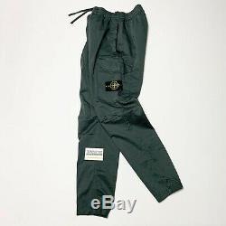 Stone Island Cargo Utility Pants Joggers Mens Cuffed Waist 32 W Grey Si Men L