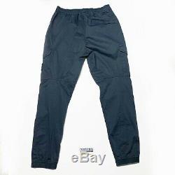 Stone Island Cargo Utility Pants Joggers Mens Cuffed Waist 32 W Navy Blue Si Men