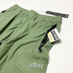 Stone Island Cargo Utility Pants Joggers Mens Cuffed Waist 36 W Green Si Men XL