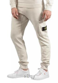 Stone Island Mens 61660 T. CO+OLD Joggers In Beige
