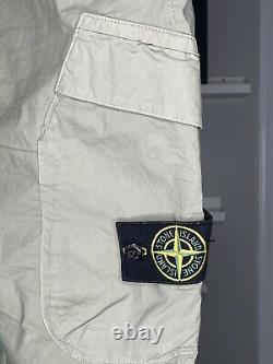 Stone island cargo pants 33 type RE-T olive green jogger mens