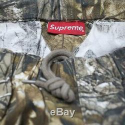 Supreme Men's XL Realtree Camo Flannel Elastic Waist Cuff Duck Jogger Pants