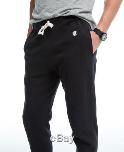 Todd Snyder + Champion Mens Slim Jogger Sweatpant In Black Small S New Medium
