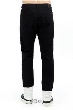True Religion Men Vtg Wash Distressed Shredded Ripped Jogger Cargo Jeans Pants