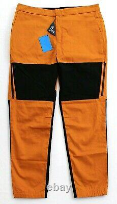Under Armour Gold Rust UAS Fieldhouse Cargo Joggers Tapered Pants Men's NWT