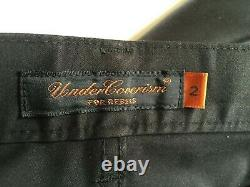 Undercover Transistor Radio Pant (30With29L) Black Denim Elasticated Opening Jun