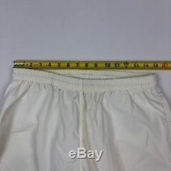 VTG 90s Ralph Lauren POLO SPORT TENNIS Mens White Windbreaker Jogger Pants LARGE