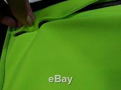Vie+Riche Paris 100% AUTHENTIC Mens MEDIUM joggers multicolor slime bright