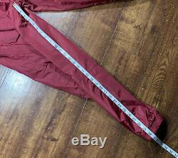Vintage 90s Nike Mens Windbreaker Jacket Pants Size M Tracksuit Joggers Maroon