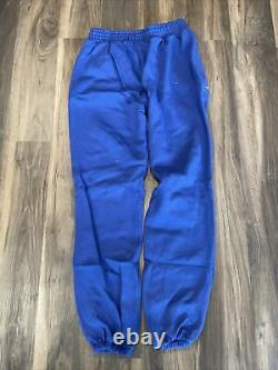 Von Dutch Originals Mens Eyeball Jogger Sweatpants Blueberry JGFL200 Size Large