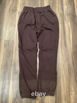 Von Dutch Originals Mens Eyeball Jogger Sweatpants Expesso #JGFL200-3 Size Large