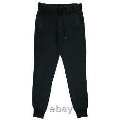 Y-3 Black Joggers Mens Medium Yohji Yamamoto Adidas 32w 32l
